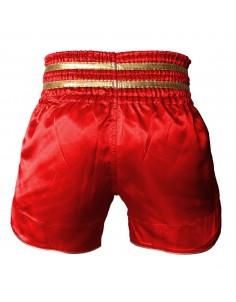 Pars Kick Boks Şortu Nakışlı Kırmızı