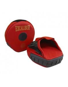 Excalibur Mini Avuç Lapa Ellik Hakiki Deri Kırmızı Çift