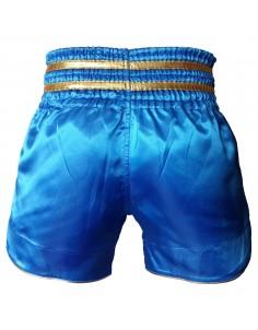 Pars Kick Boks Şortu Nakışlı Mavi