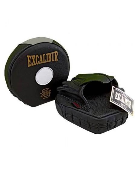 Excalibur Mini Avuç Lapa Ellik Hakiki Deri Siyah Çift
