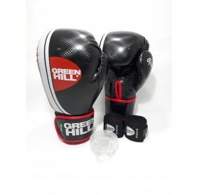 Green hill knock out boks eldiven seti  siyah