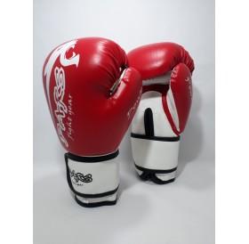 Pars power boks eldiveni kırmızı